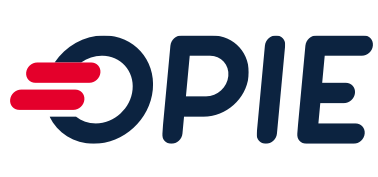 A theme logo of OPIE Drive-Thru Grocery
